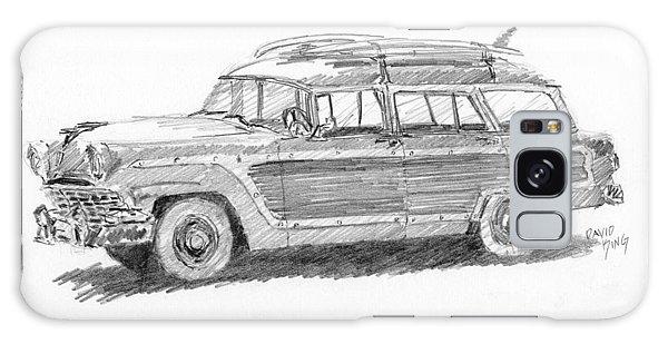 Ford Wagon Sketch Galaxy Case