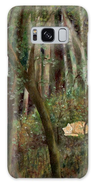 Forest Cat Galaxy Case