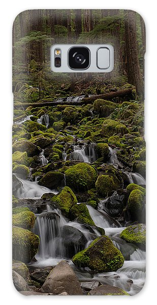 Olympic National Park Galaxy Case - Forest Cathederal by Mike Reid