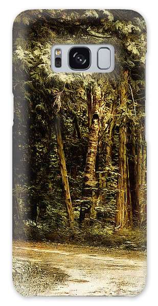 Forest Curve Galaxy Case