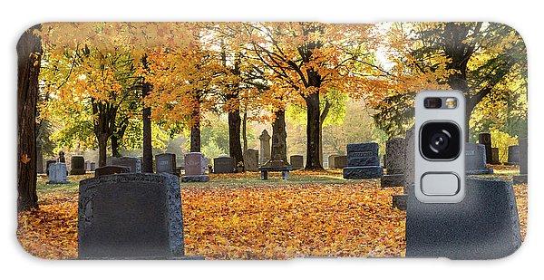 Forest Hill Autumn Morn Galaxy Case
