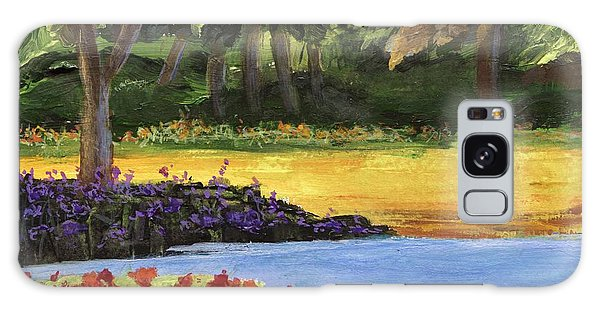 Galaxy Case featuring the painting Forest Lake by Jamie Frier