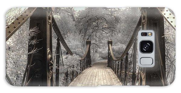 St Louis Mo Galaxy Case - Forest Park Victorian Bridge Saint Louis Missouri Infrared by Jane Linders