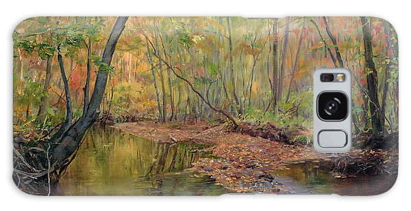 Forest River In Early Fall Galaxy Case