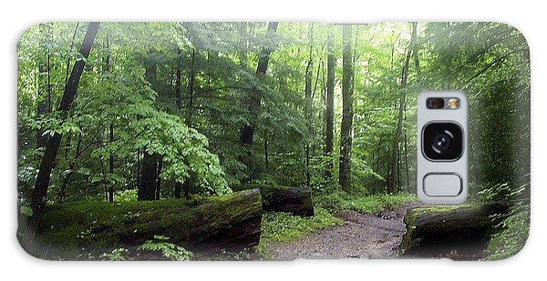 Forest Setting Smoky Mountains National Park Galaxy Case