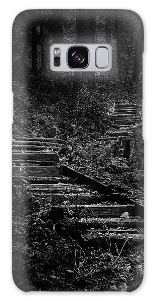 Woods Galaxy Case - Forest Stairs by Scott Norris