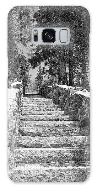 Forest Stairway Galaxy Case