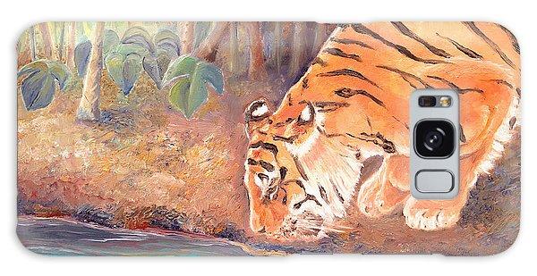 Forest Tiger Galaxy Case