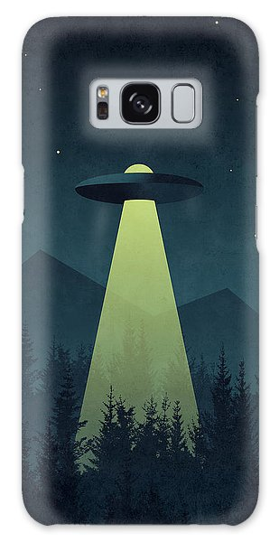 Outer Space Galaxy Case - Forest Ufo by Ivan Krpan