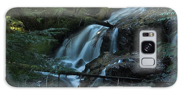 Forest Waterfall. Galaxy Case