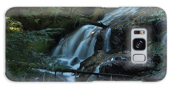 Forest Waterfall. Galaxy Case by Yulia Kazansky