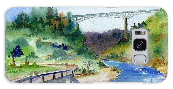 Foresthill Bridge #2 Galaxy Case