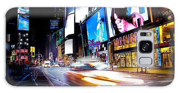 New York City Taxi Galaxy Case - Forever Land by Az Jackson