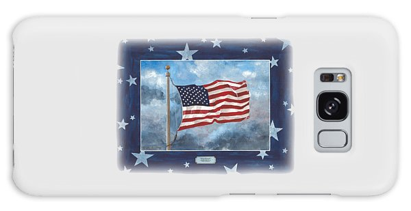Forever Old Glory  Galaxy Case by Herb Strobino