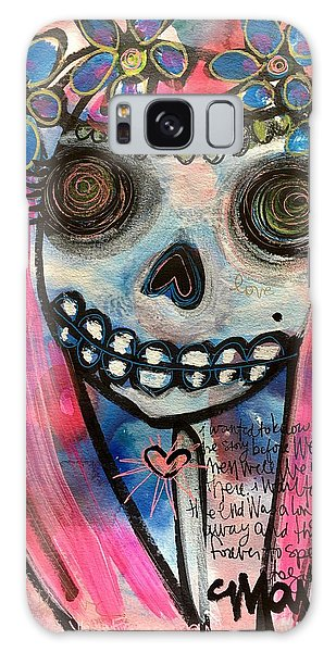 Galaxy Case featuring the painting Forever With You by Laurie Maves ART