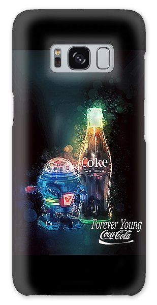 Galaxy Case featuring the photograph Forever Young Coca-cola by James Sage