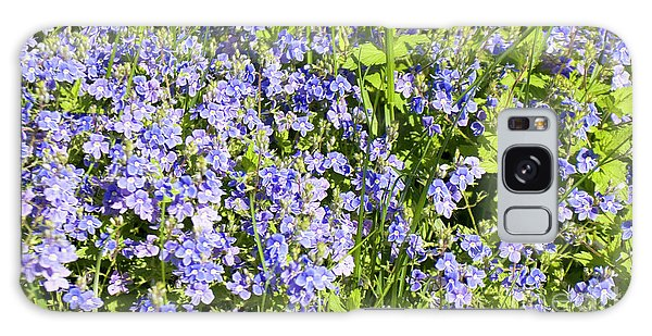 Forget-me-not - Myosotis Galaxy Case