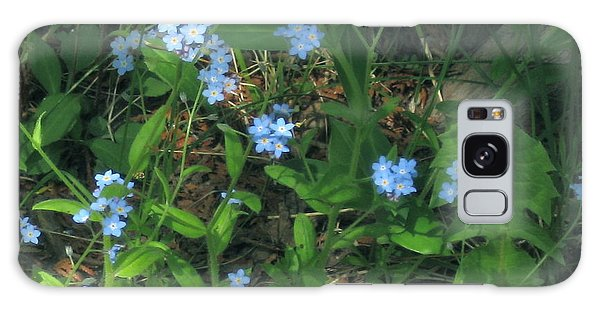 Forget-me-nots Galaxy Case