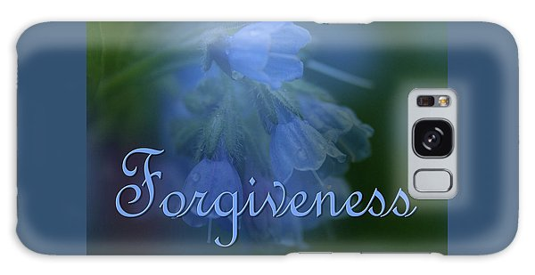 Forgiveness Blue Bells Galaxy Case