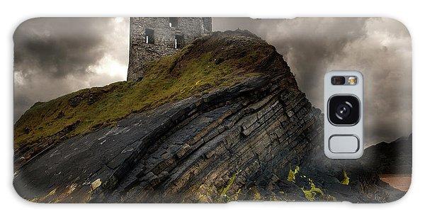 Forgotten Castle In Ballybunion Galaxy Case