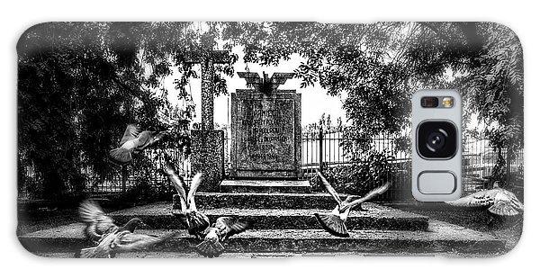 Forgotten Monument Galaxy Case by Jaroslaw Grudzinski