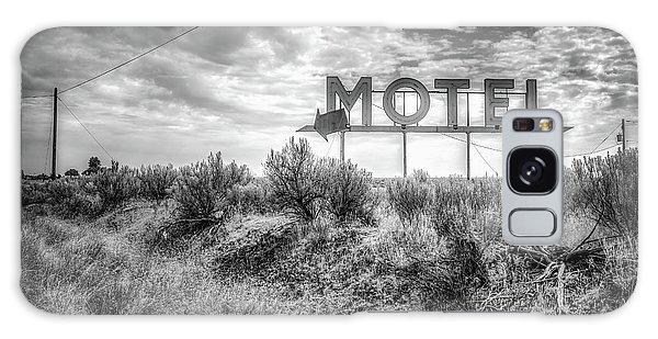 Forgotten Motel Sign Galaxy Case by Spencer McDonald