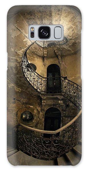 Forgotten Staircase Galaxy Case