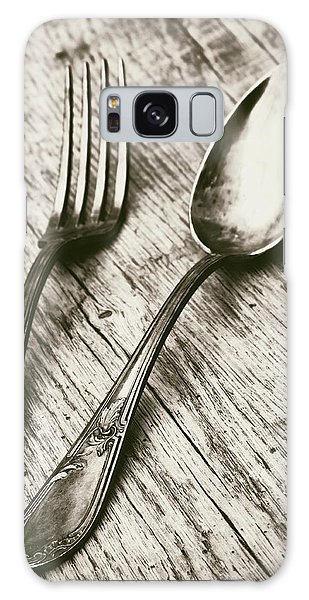 Fork And Spoon Galaxy Case
