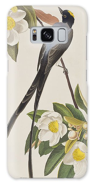 Flycatcher Galaxy Case - Fork-tailed Flycatcher  by John James Audubon