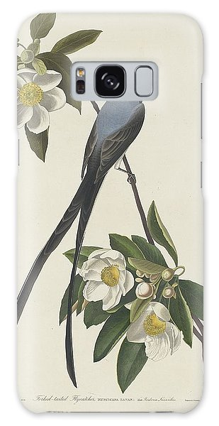 Flycatcher Galaxy Case - Forked-tail Flycatcher by Dreyer Wildlife Print Collections