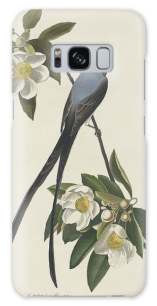 Engraving Galaxy Case - Forked-tail Flycatcher by Dreyer Wildlife Print Collections