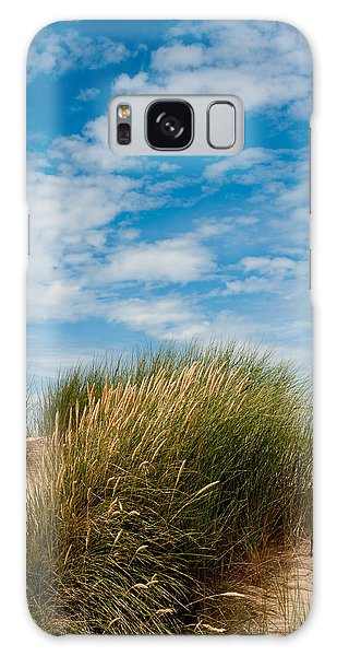 Formby Sand Dunes And Sky Galaxy Case