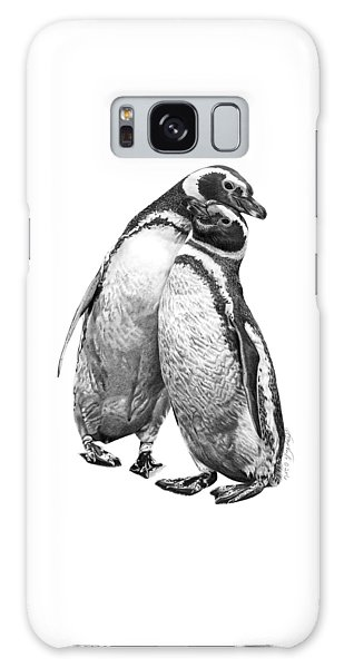 Forrest And Jenny The Penguins Galaxy Case