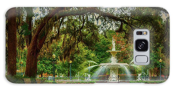 Forsyth Park Fountain Galaxy Case