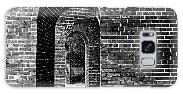 Fort Arches In Black And White Galaxy Case