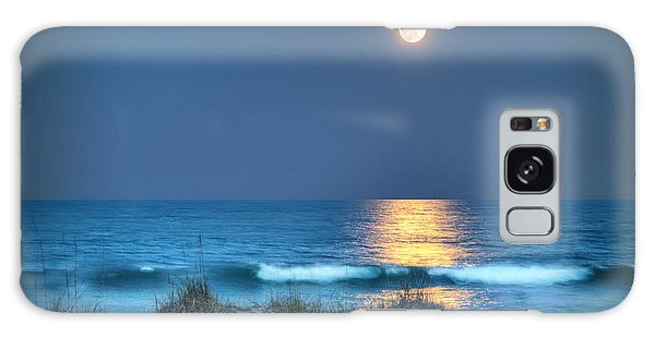 Fort Fisher Moonbeam Galaxy Case by Phil Mancuso