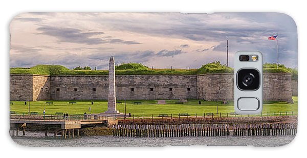 Fort Independence At Castle Island Galaxy Case