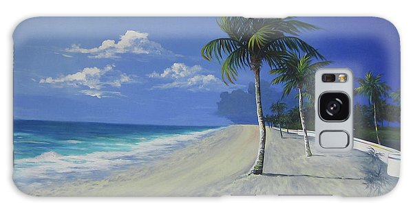 Fort Lauderdale Beach Galaxy Case by Anne Marie Brown