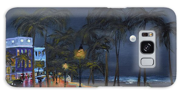 Fort Lauderdale Beach At Night Galaxy Case