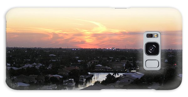 Fort Lauderdale Sunset Galaxy Case