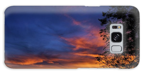 Fort Mohave Arizona Sunset Galaxy Case