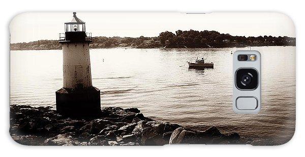 Fort Pickering Lighthouse, Winter Island, Salem, Massachusetts Galaxy Case