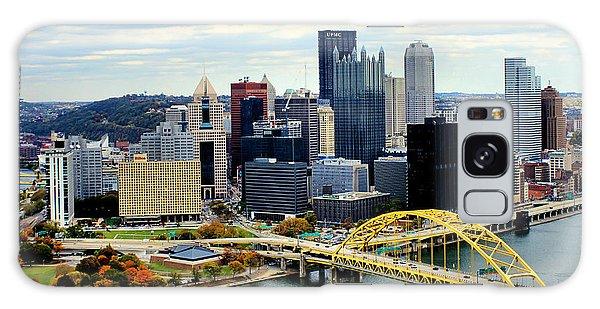 Fort Pitt Bridge Galaxy Case