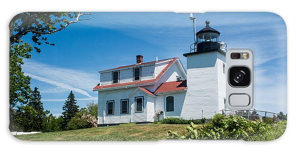 Fort Point Lighthouse  Stockton Springs Me 2  Galaxy Case