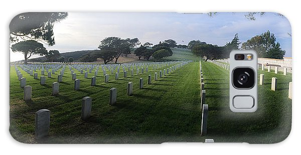 Fort Rosecrans National Cemetery Galaxy Case by Lynn Geoffroy