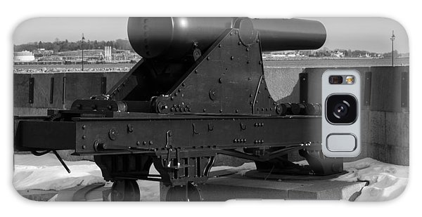 Fort Trumbull Cannon Galaxy Case