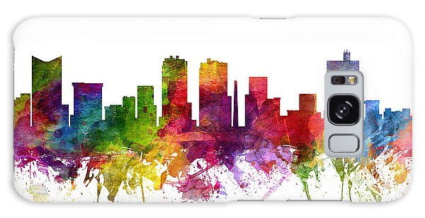 Colours Galaxy Case - Fort Worth Cityscape 06 by Aged Pixel