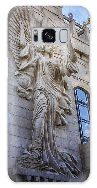 Fort Worth Impressions Bass Hall Angel Galaxy Case