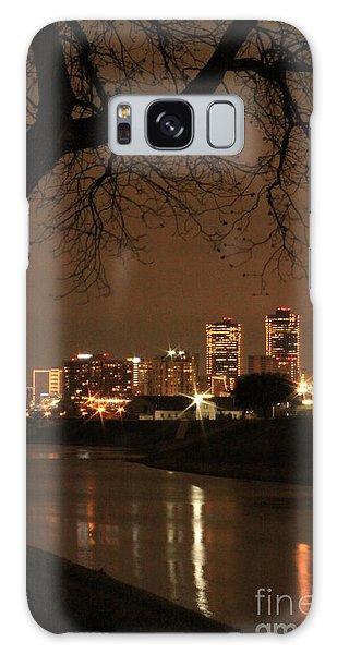 Fort Worth Skyline Galaxy Case by Jill Smith