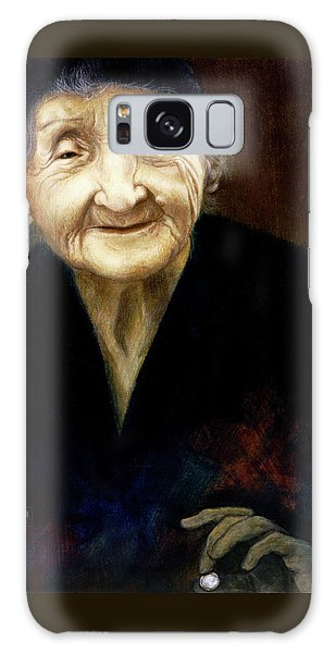 Fortune Teller Galaxy Case by Yvonne Wright